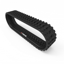 Bobcat T180 | Zig Zag | Skid Steer Rubber Track | Size B320x86x49ZZ | Replaces OEM Part# 6680161