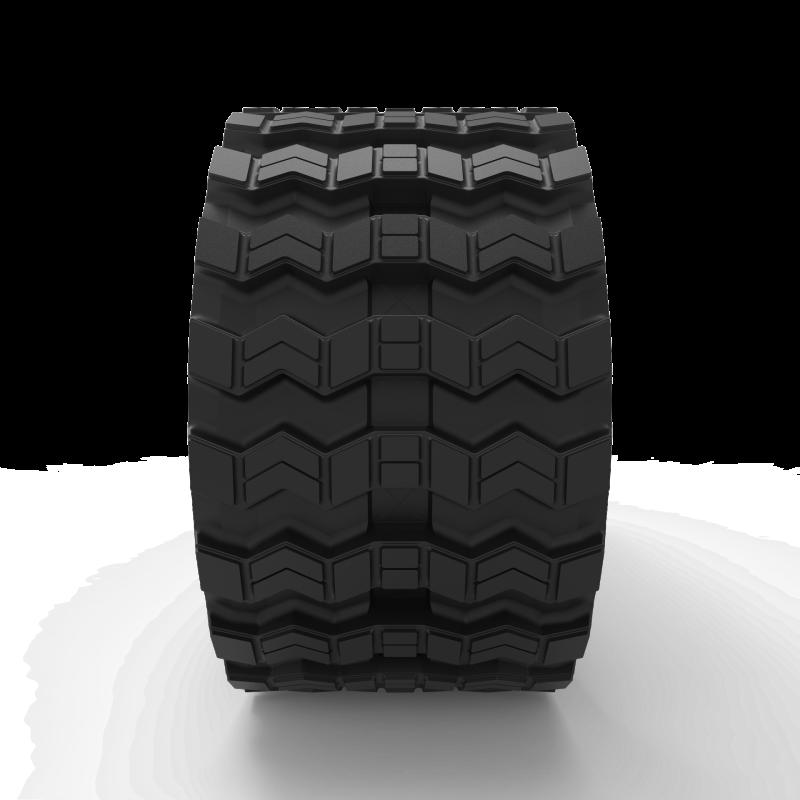 John Deere 323D | Zig Zag | Skid Steer Rubber Track | B320x86x52ZZ