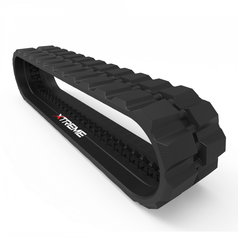 Caterpillar 299D2 | Staggered D | Skid Steer Rubber Track | B450x86x60D