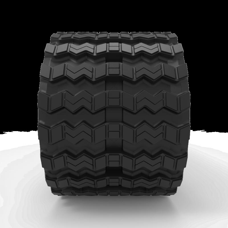 Caterpillar 289D | Zig Zag | Skid Steer Rubber Track | B450x86x56ZZ