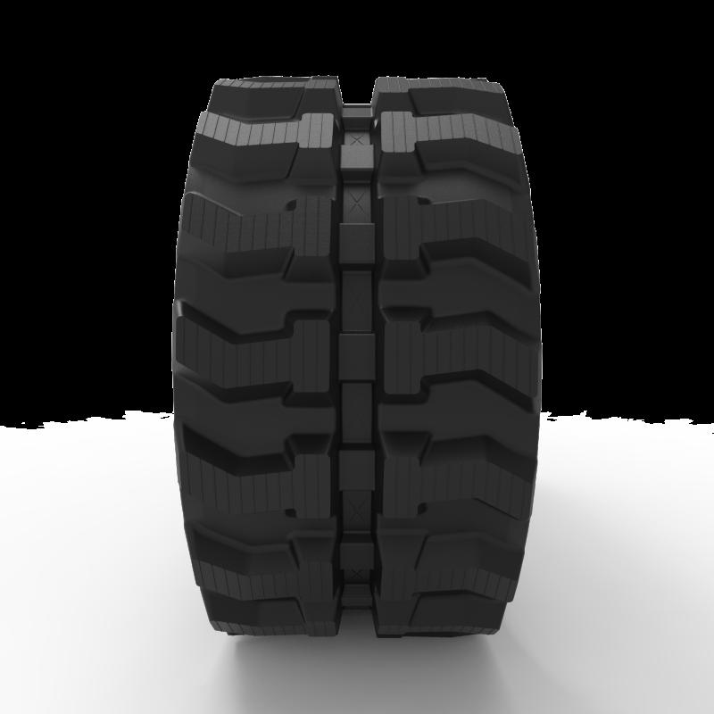 GEHLMAX MB245  | Mini Excavator Rubber Track | 320x100x40